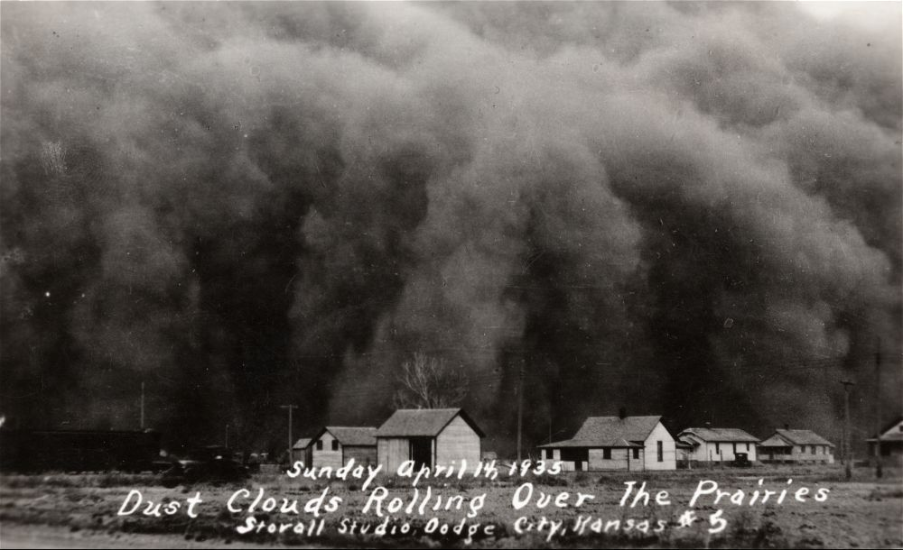 How was the dust bowl a turning point in american history? PLEASE HELP?