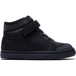 Toms Schuhe Schwarze Glattes Synthetik Cusco Sneakers Für Kleinkinder – Größe 28.5 TomsToms