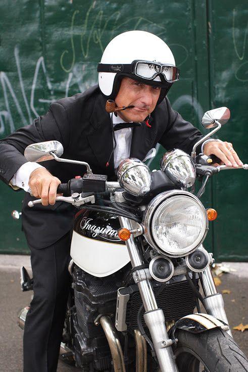 The Distinguished Gentleman's Ride: Rome 28 September 2014! The reunion of man made legends, all ridden dapper!