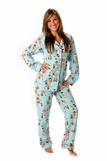 PJ Salvage Cowgirl Cutie Flannel Pajama