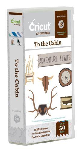 Cricut-To-the-Cabin-Seasonal-Cartridge-Brand-New