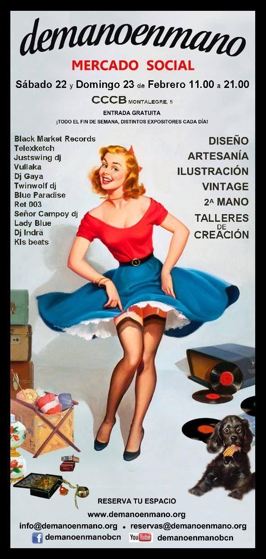 yutakreciclando os espera sabado 22 febrero en el  Cindy Barlow de   barcelona f8b31378a04