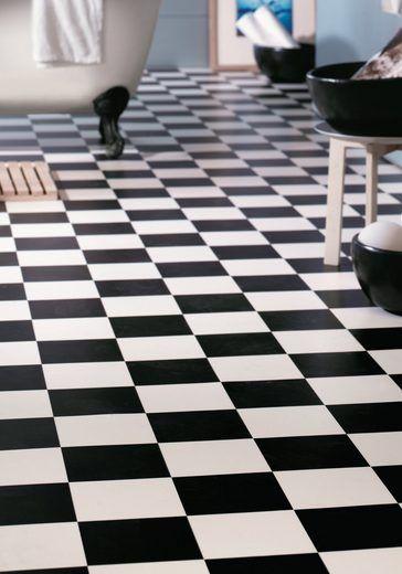 Andiamo PVC-Boden »Bingo«, schwarz-weiß | Boden
