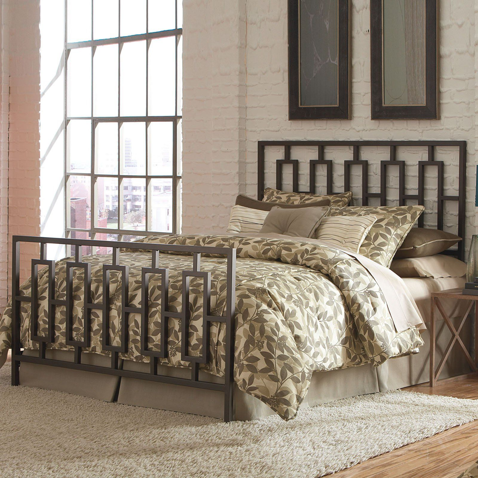 Fashion Bed Group Miami Panel Bed B61444 Bed Styling Brown