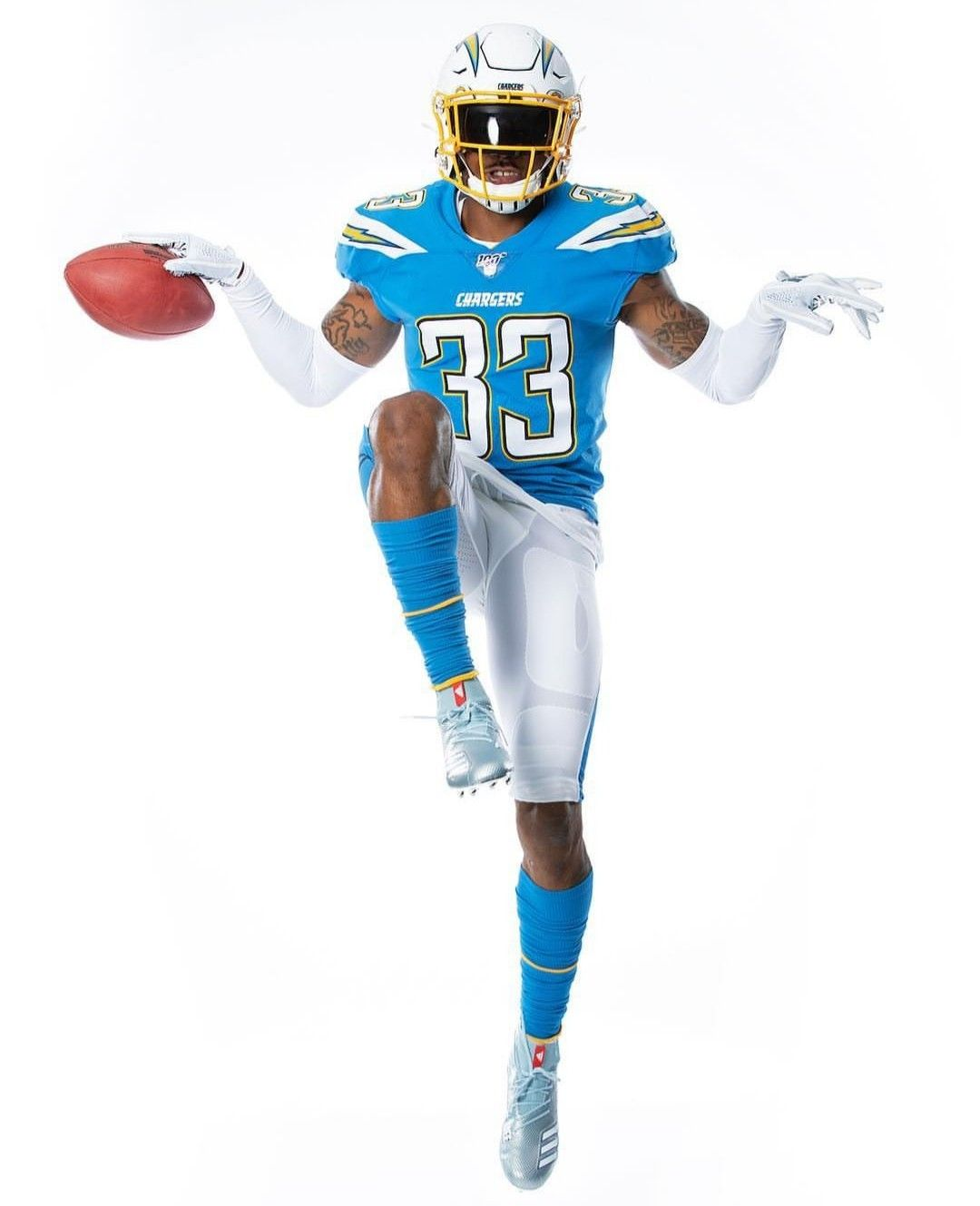 Los Angeles Chargers New Home Uniforms Los Angeles Chargers Football Uniforms Chargers
