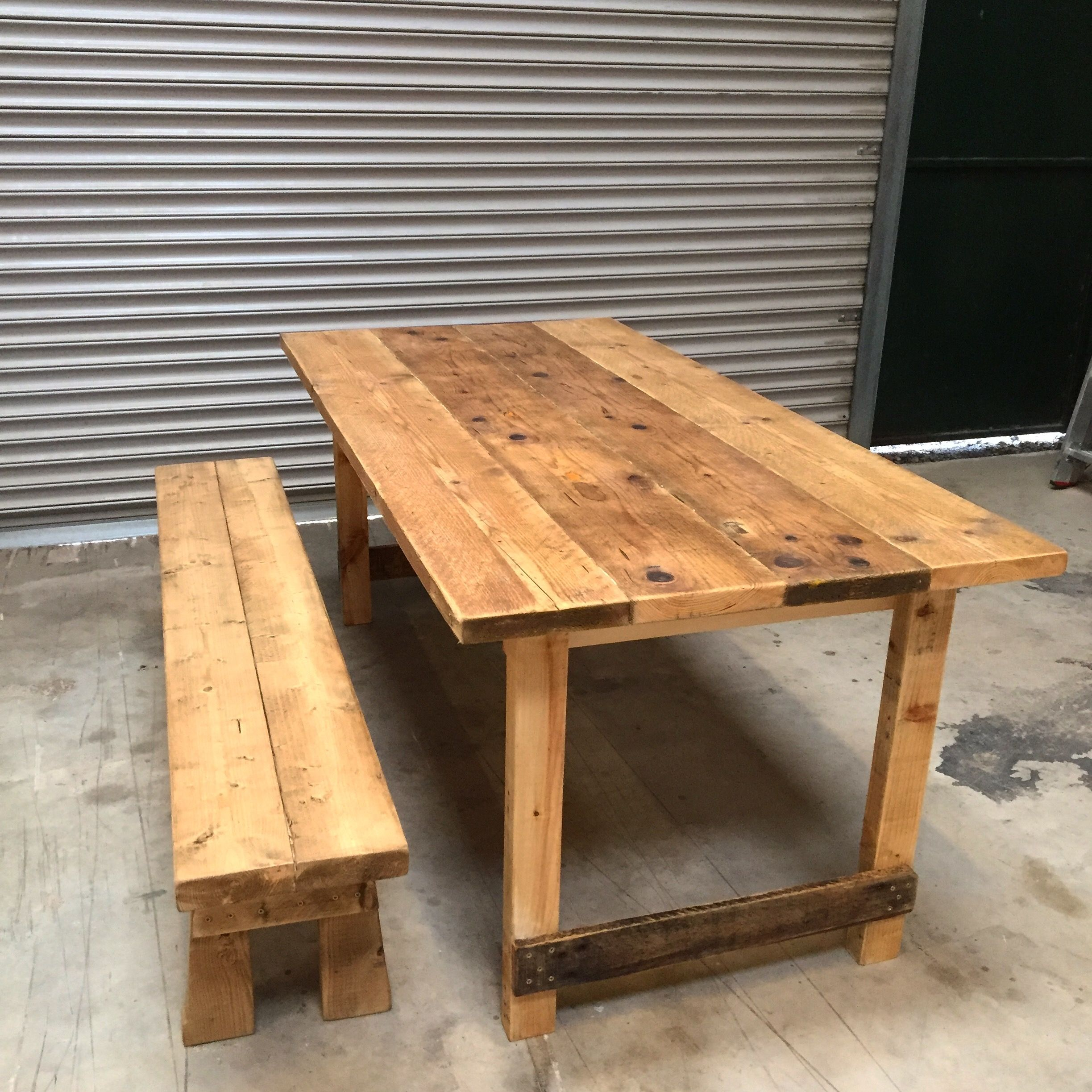Made From Reclaimed Wood 175 290 Wooden Tables Table