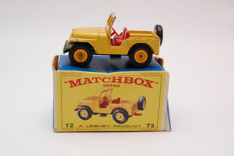Matchbox Lesney no. 72 Standard Jeep CJ5 w/Original Box