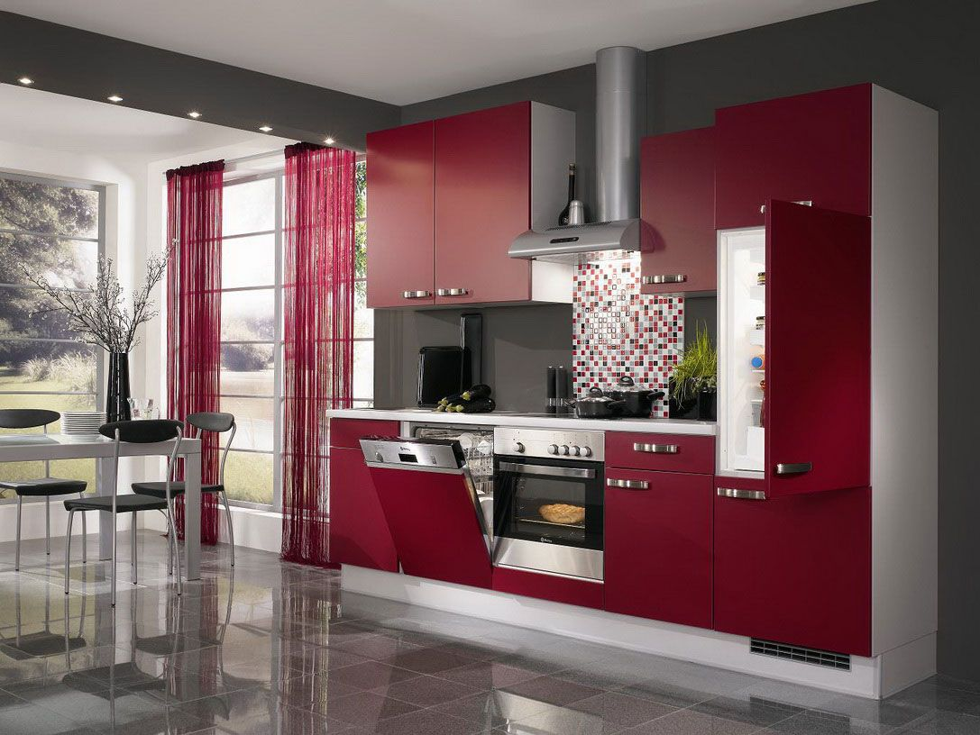Pin By Debbie On Remodeling Pinterest Red Kitchen Luxury And