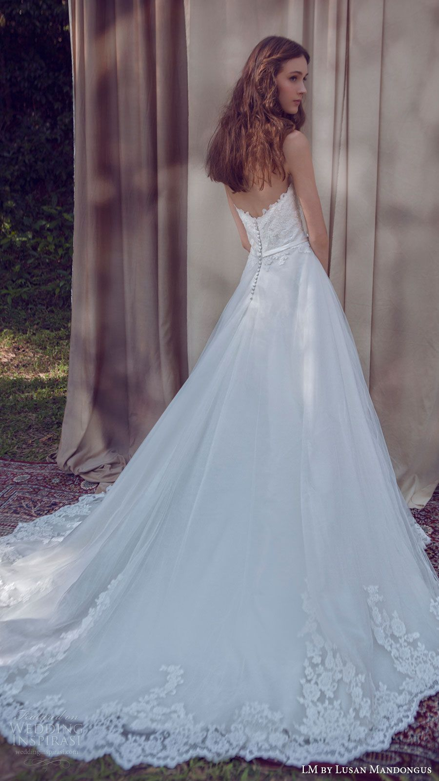 LM by Lusan Mandongus 2017 Wedding Dresses | Ball gowns, Gown ...