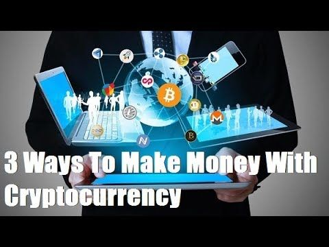 Making money through cryptocurrency