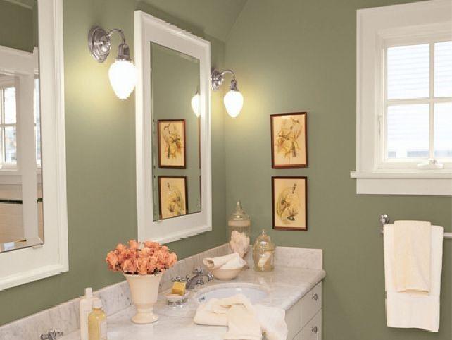 colore pareti bagno verde oliva per pareti bagno