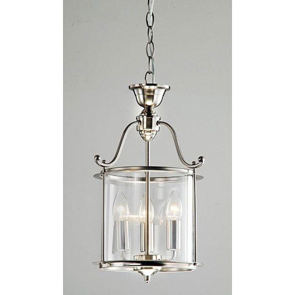 Indoor 3 light antique nickel chandelier free shipping today indoor 3 light antique nickel chandelier free shipping today overstock aloadofball Gallery