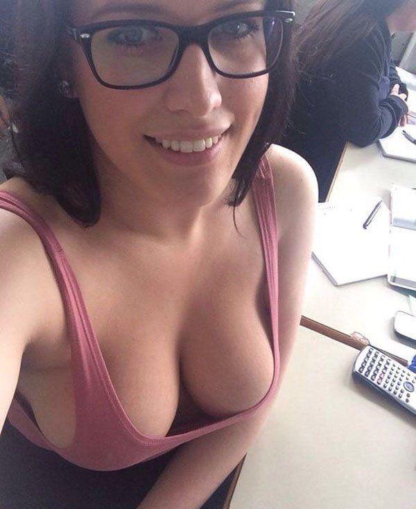 Hot nerdy girls with nerd glasses