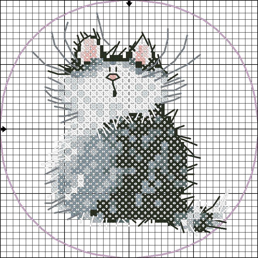 надеюсь, оно вышивание крестиком котики картинки название фасон