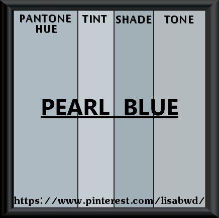 pantone seasonal color swatch pearl blue | color thesaurus, color