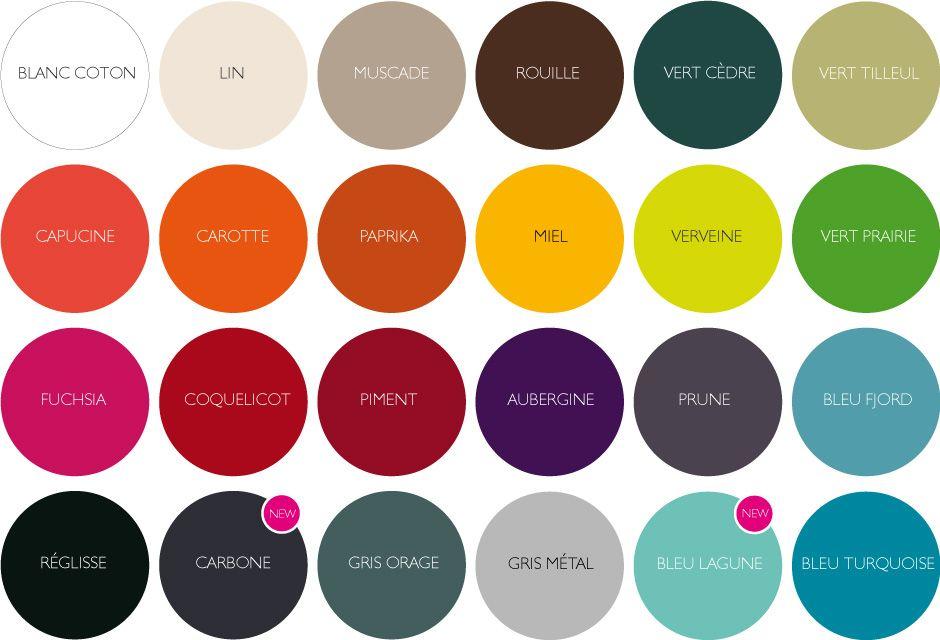 Nuancier couleurs / Découvrir Fermob / Accueil - Fermob ...