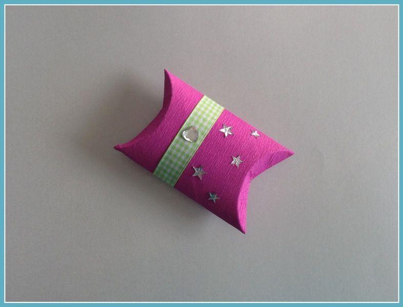Geschenkbox pink von Smaragddrache auf DaWanda.com