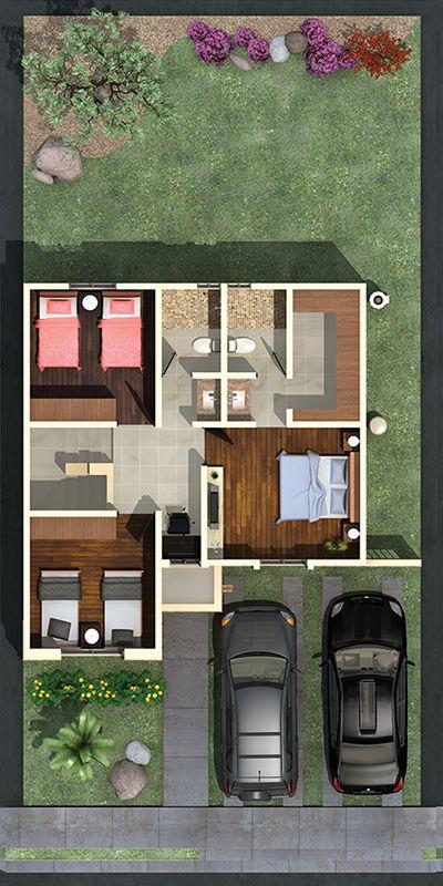 Planta alta favorita casa plano pinterest alto for Disenos de casas pequenas de dos plantas