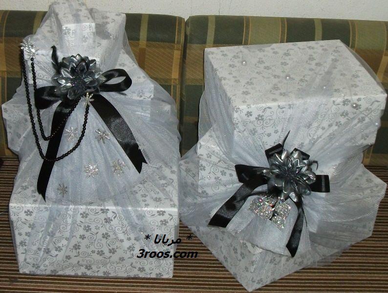 مشاركتي في المسابقه أفكار لتزيين جهاز العروس دبش العروس منتديات عروس Gifts Gift Box Gift Wrapping