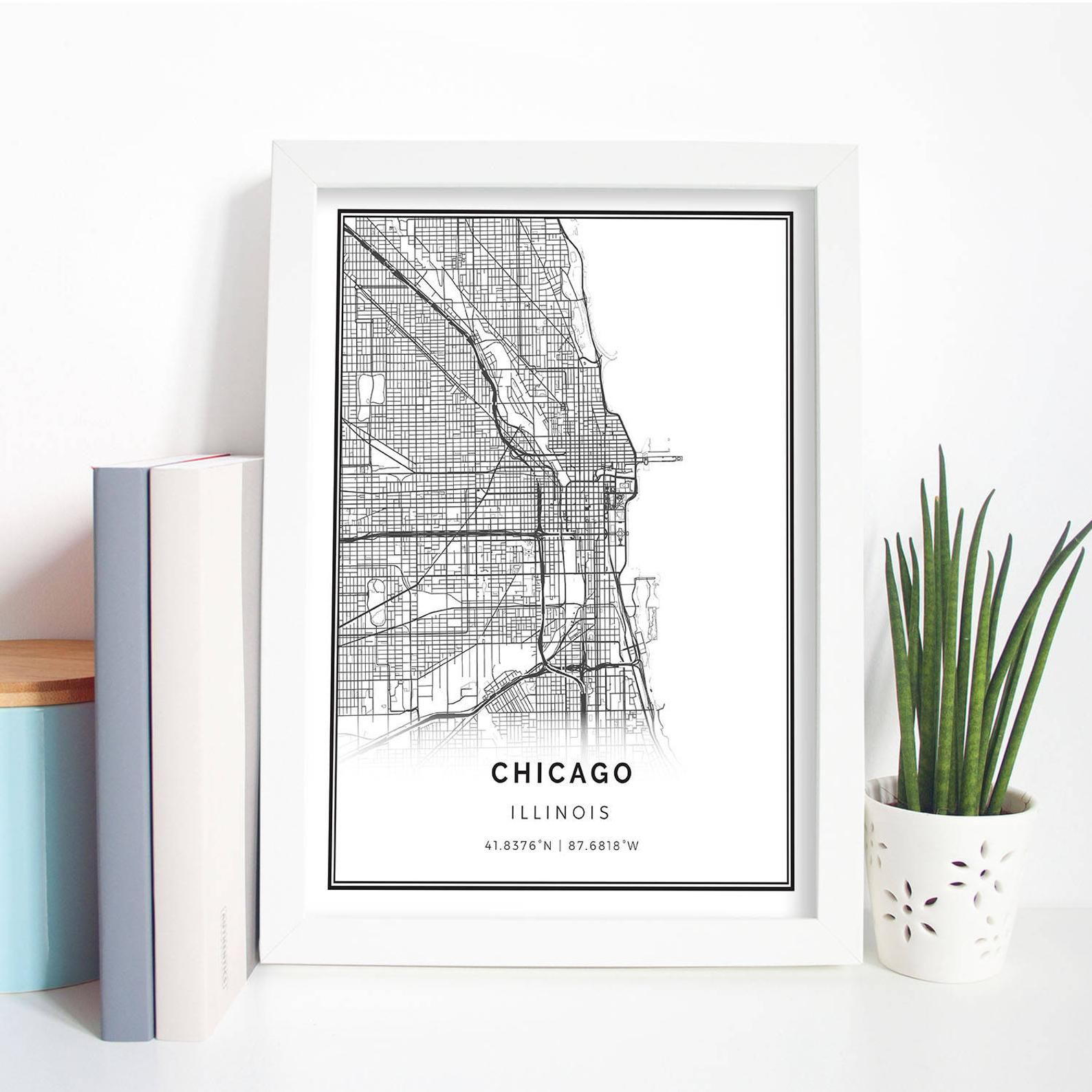 Chicago map poster print wall art Illinois gift printable ... on chicago illinois map, chicago road map with numbers, chicago map vintage, chicago wall murals, chicago sculpture wall colors, chicago map wallpaper, chicago street block numbers, chicago neighborhood map, chicago state map, chicago map fabric, chicago map glass, chicago map design, chicago map canvas, chicago skyline 2014, chicago wall decor, chicago black, chicago street map, chicago metro map, chicago map artwork, chicago map coasters,