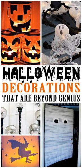 AMAZING Halloween decorations! Best decorations ideas for Halloween - halloween diy crafts