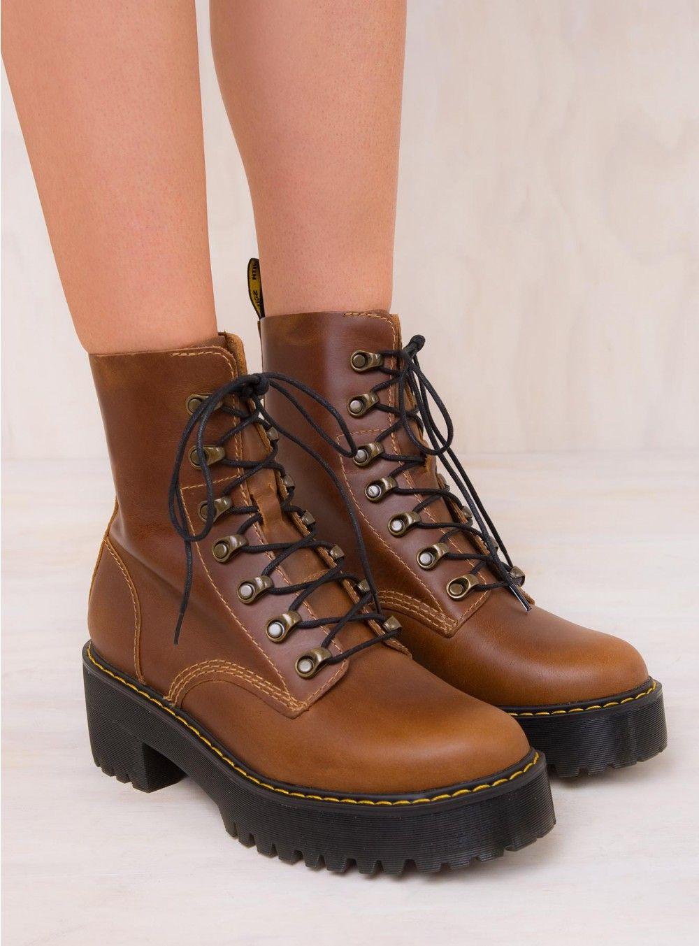 Dr. Martens Leona Butterscotch Orleans Boots   Shoes   Shoes, Boots ... a30410c0abb5