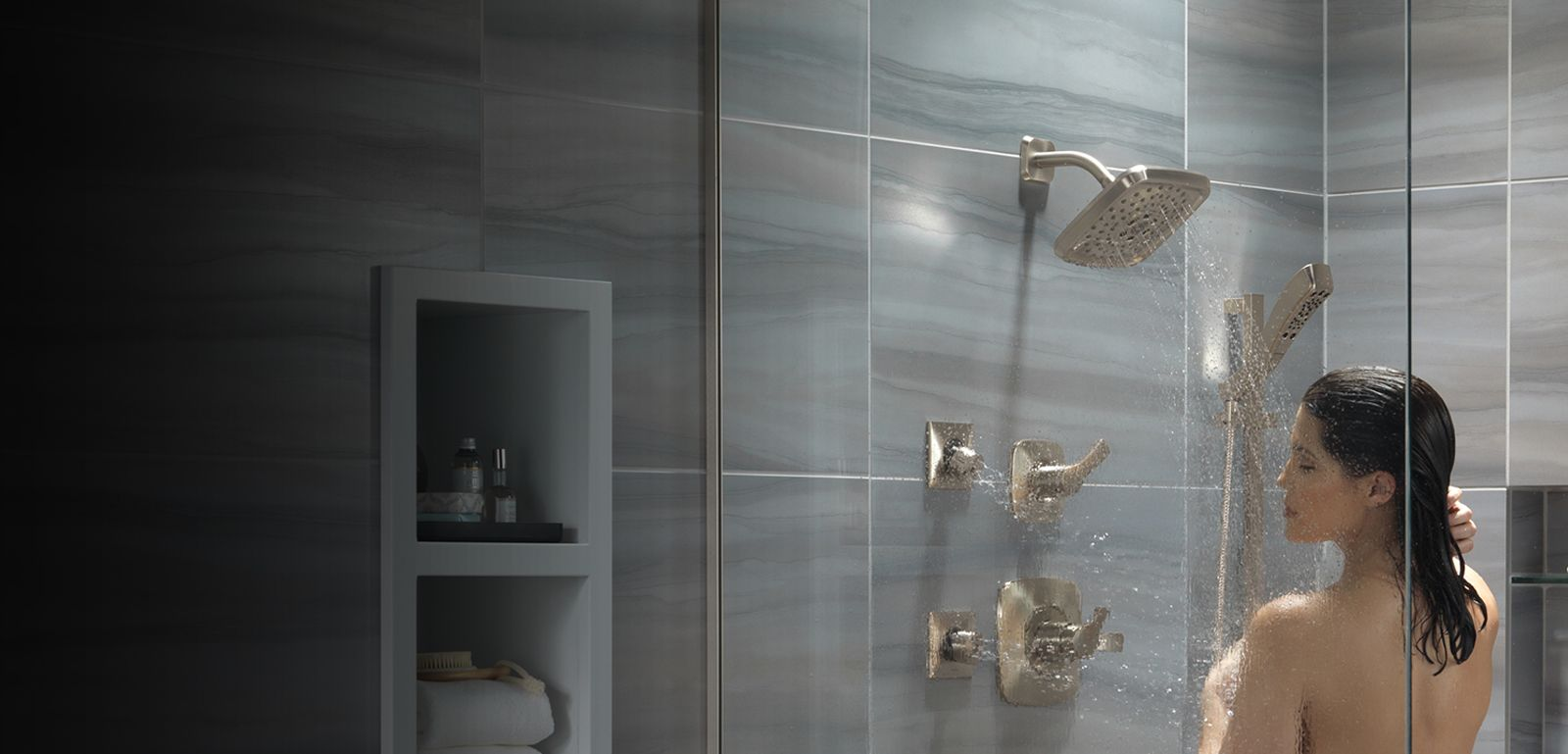 Your Shower Experience Design Tool For Showers Buying At Delta Faucet Our Kitchen Faucets Bathroom And Guide