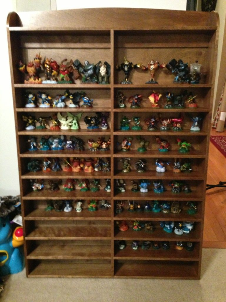 Skylander Display Shelf  This Is What My Grandson Ashton Needs!