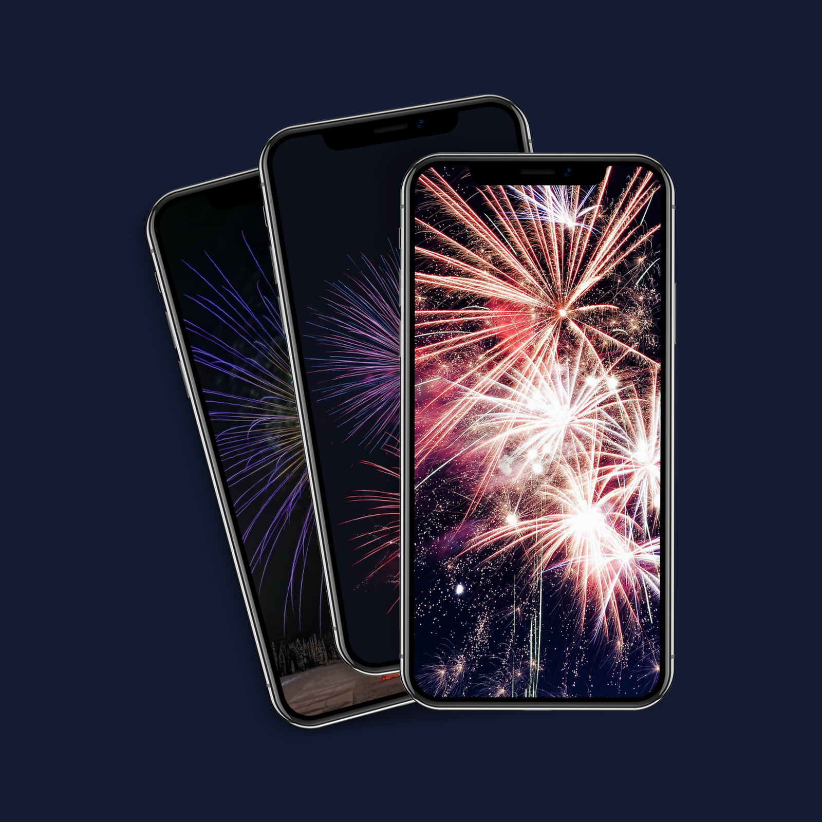 New Year's Eve iPhone wallpaper pack