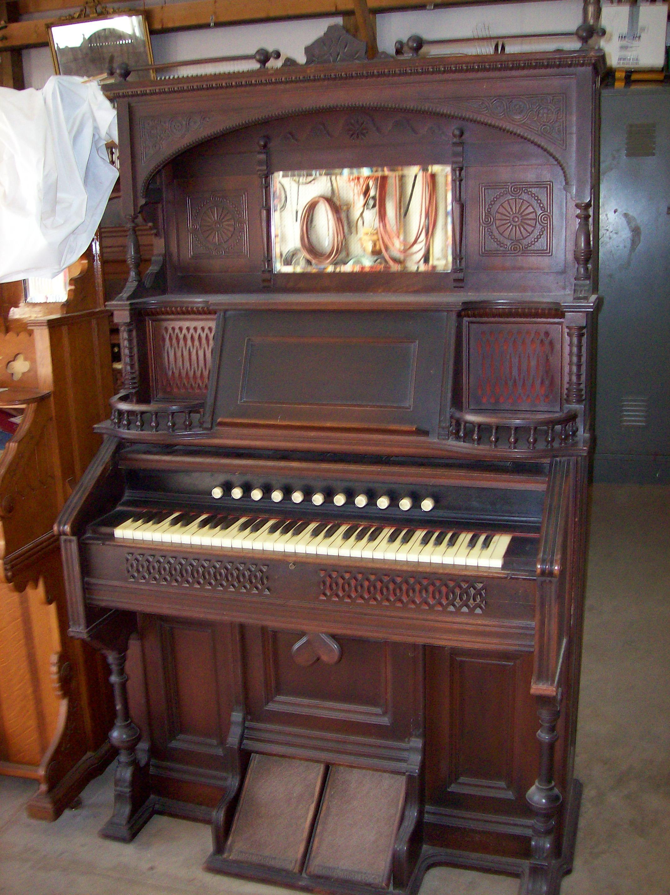 Vintage Pump Organ 37