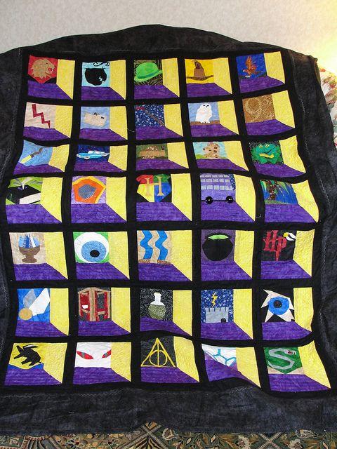 crochet harry potter quilt - Google Search