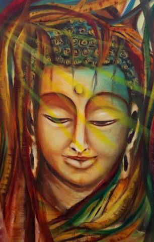 Composition of buddha