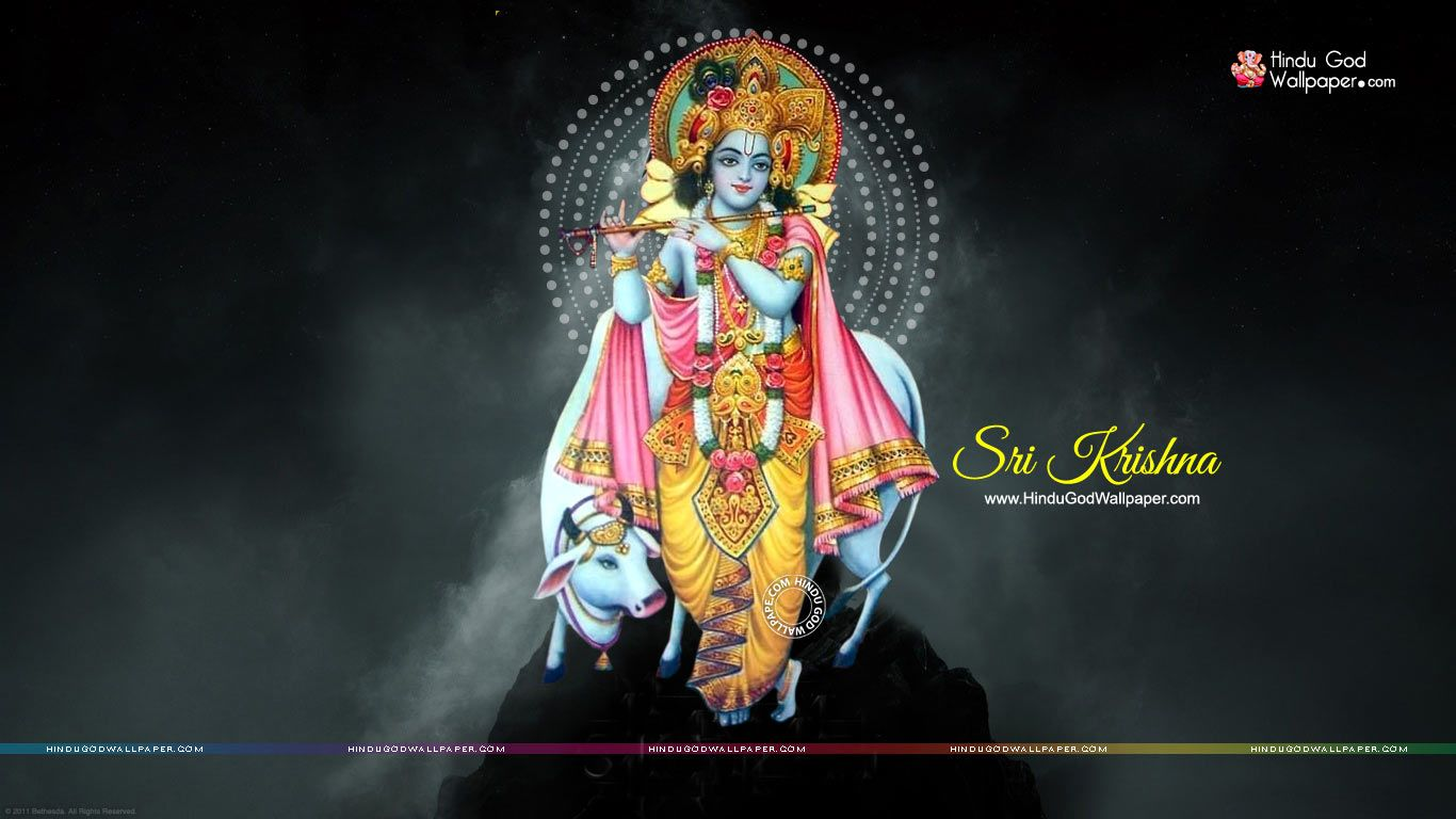 Lord Krishna Wallpaper 1366x768 Hd Free Download Lord Krishna Wallpapers Lord Krishna Hd Wallpaper Lord Krishna