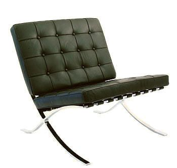 Bauhaus stuhl barcelona lounge chair entwurf mies van for Stuhl design bauhaus