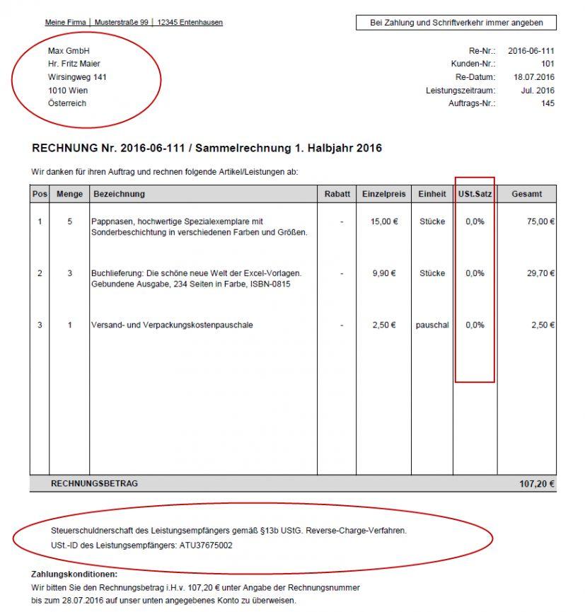 Scrollen Unsere Kostenlos Von Reverse Charge Rechnung Vorlage In 2020 Rechnung Vorlage Vorlagen Word Rechnungsvorlage