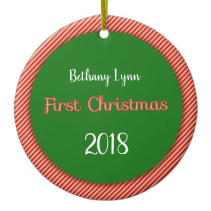 Personalized Christmas Tree Ornament marriage gifts Pinterest