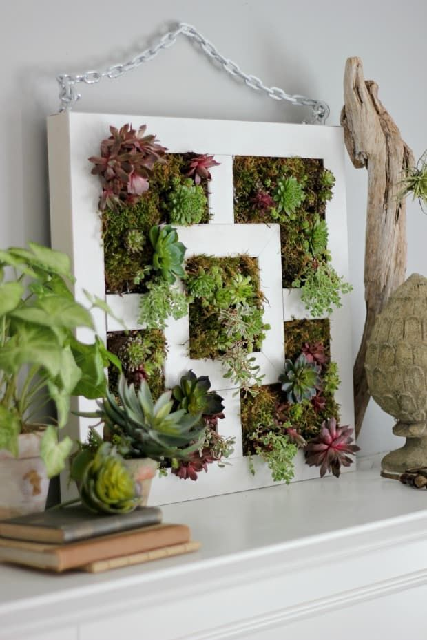 20 DIY Vertical Garden Ideas  How to Make a Vertical Garden is part of Vertical Succulent garden - You don't need a lot of space to have a garden  Just think up! These 20 DIY vertical garden ideas will unleash your creativity and have your home and garden looking lush in no time!