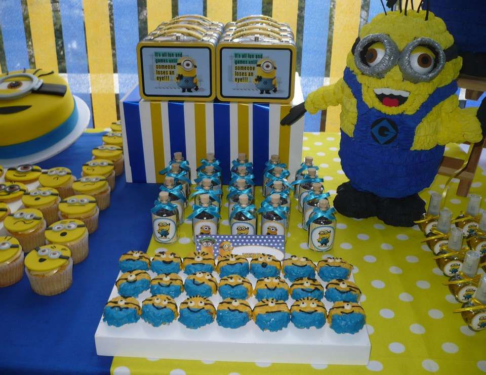 despicable me minions birthday minions party