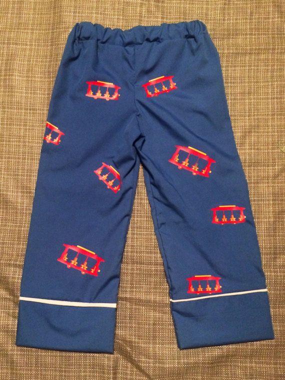 Trolley Pajamas Inspired Lounge Wear Bottoms  de988b4ad