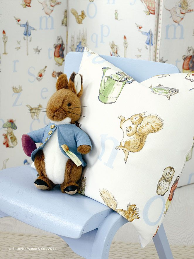 Beatrix Potter Baby Bedroom: 5BR 0-3yrs Theme & Design