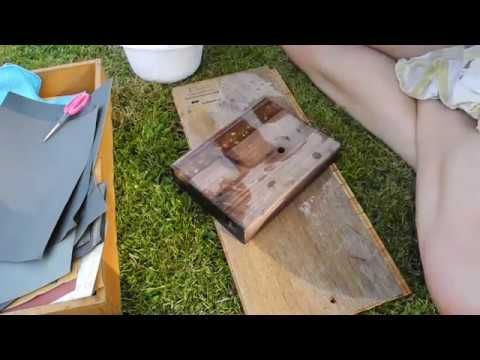 how to epoxidharz tutorial gie harz schleifen. Black Bedroom Furniture Sets. Home Design Ideas