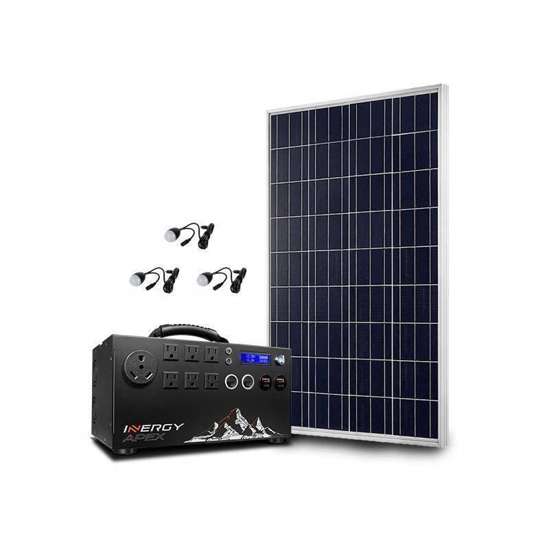 Inergy Apex Bronze Storm100 Solar Generator Kit Solar Generator Best Solar Panels Solar Panels