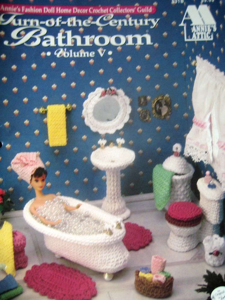 Crocheted Fashion Doll Turn of the Century Pattern #AnniesAttic ...