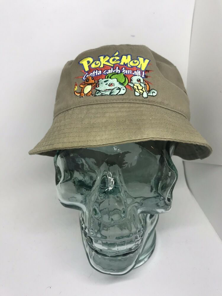 8aaf649cd8c Worlds Greatest Pokémon Catcher Floppy Hat Official Nintendo Cap | eBay