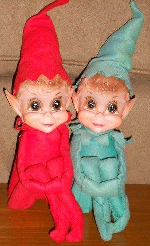 Knee Hugger Shelf Sitting Elf Elves