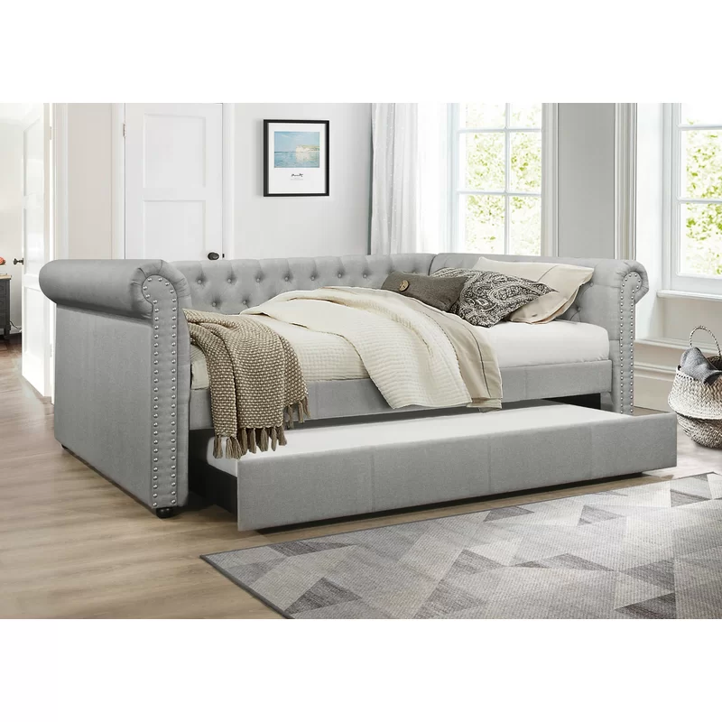 Salomon Upholstered Daybed Upholstered Daybed Daybed With
