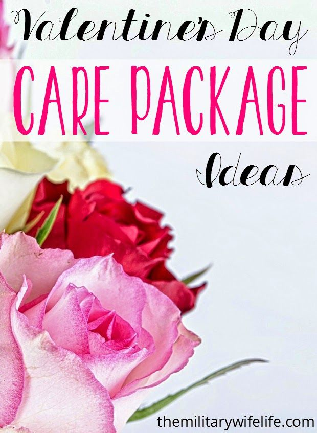 Valentine S Day Care Package Ideas Care Package Ideas Pinterest