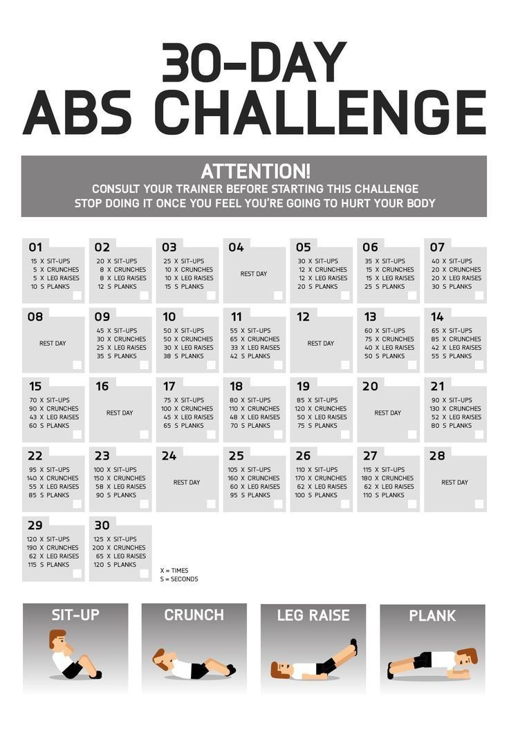 abs challenge sixpack exercises 30 days winter and summer plan bauchmuskeln abs trainieren. Black Bedroom Furniture Sets. Home Design Ideas