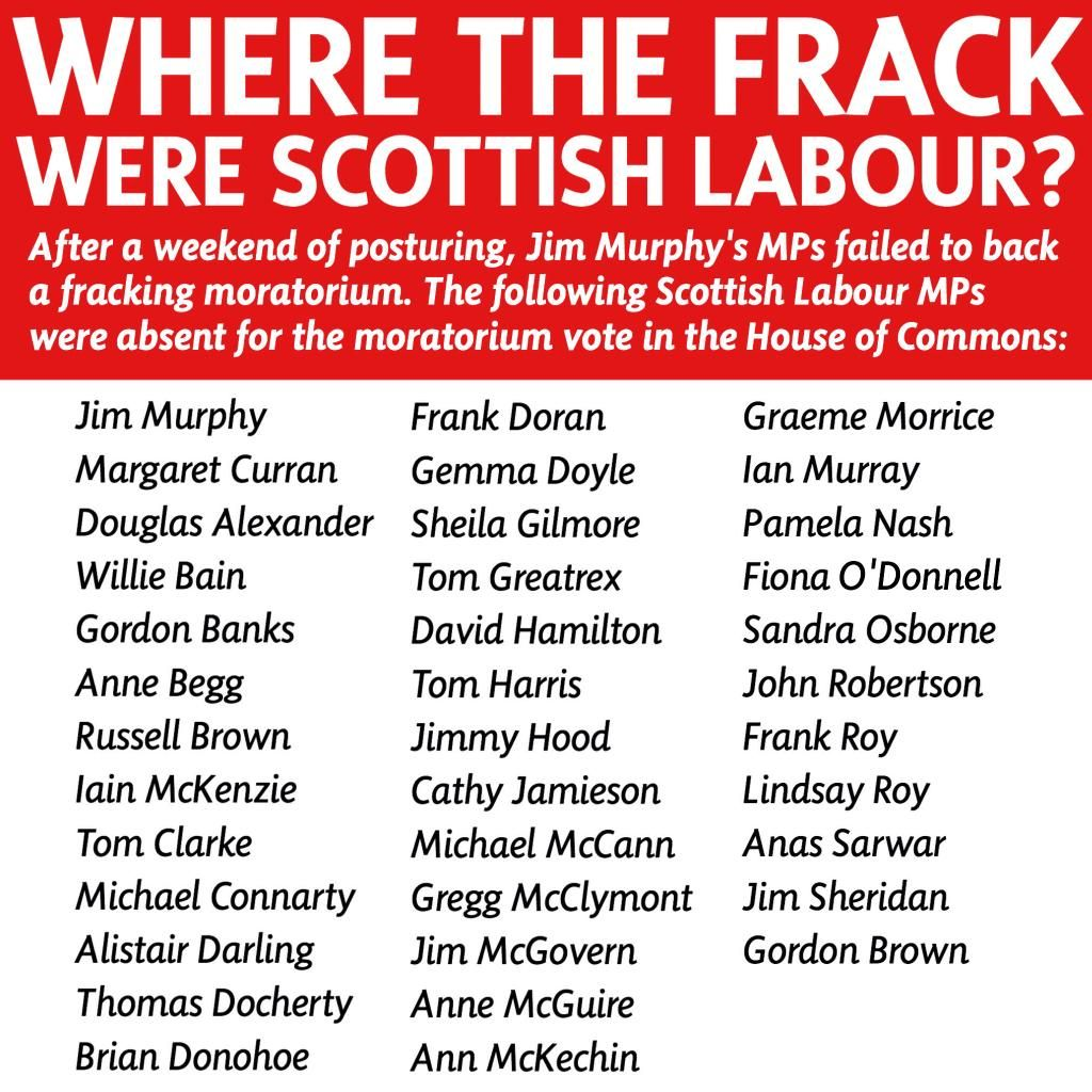 Audience member on the #BigDebate asks why Labour didn't back a UK-wide moratorium on #fracking this week.