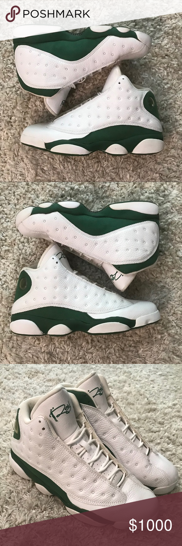 c83ff868193 Jordan 13 Retro XIII Ray Allen PE 414571-125 10.5 Selling a pair of Gently